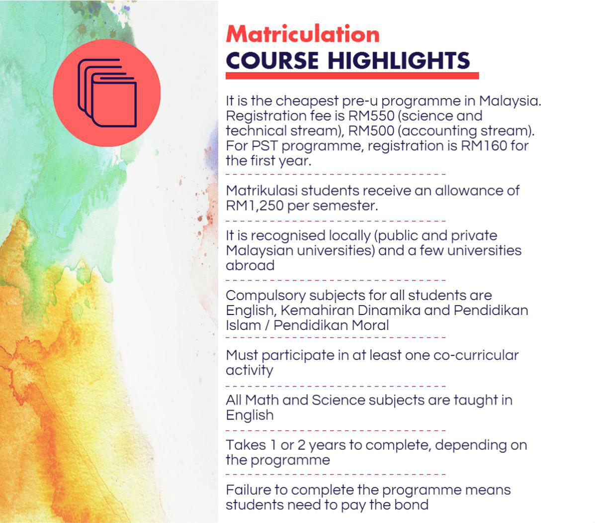 Know Your Pre University Programmes